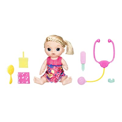 Baby Alive Sweet Tears Baby (Blonde): Toys & Games
