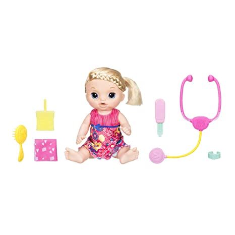 fa6c504be2dc Amazon.com: Baby Alive Sweet Tears Baby (Blonde): Toys & Games