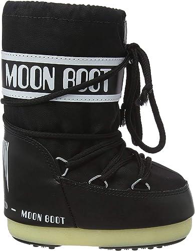 TALLA 35/38 EU Ancho. Tecnica Moon Boot Nylon, Botas de Nieve Unisex Adulto