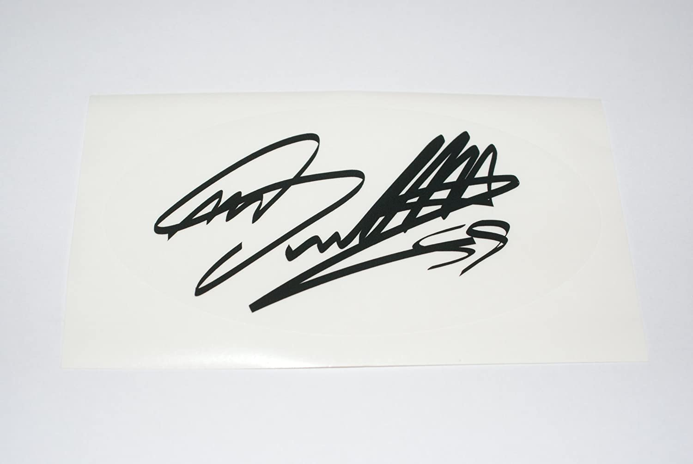 Rapro Graphics Marco Simoncelli Signature Autocollant