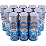 Case 12 Cans Corrosion Suppressant Cosmoline Wax Metal Spray Weather Protect Rust Prevention for Automotive Machinery Fire Ar