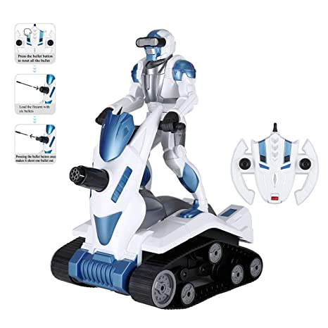 Amazon com: Modern-Depo Rastar Remote Control Robot Toy for