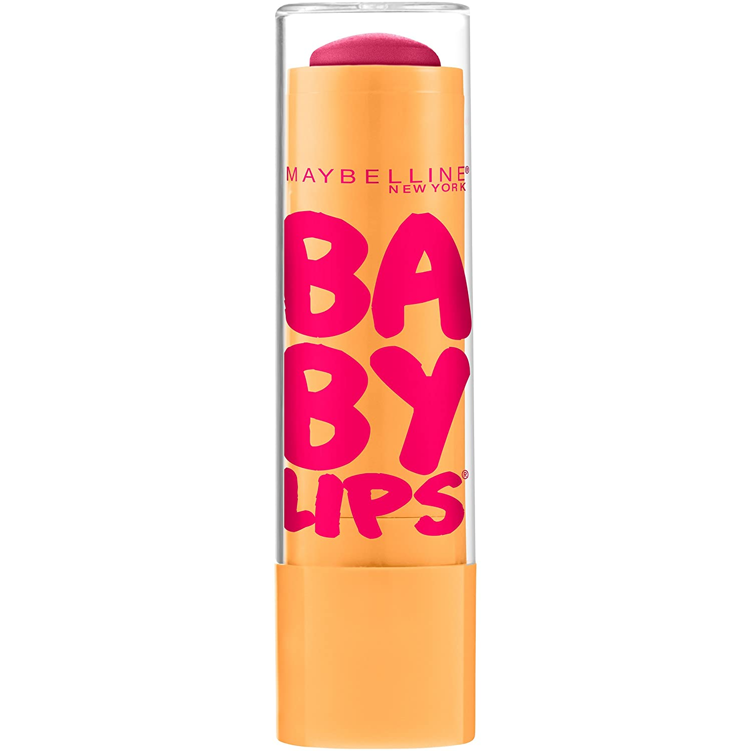 Maybelline New York Baby Lips Moisturizing Lip Balm, Cherry Me, 0.15 Ounce by Maybelline New York K1013801