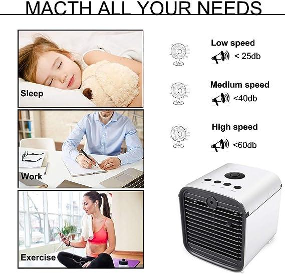 Climatizador Evaporativo Air Cooler Portatil Aire Acondicionado ...
