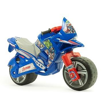 Avengers - Moto correpasillos Hawk XL para niños a Partir de 3 años con asa de