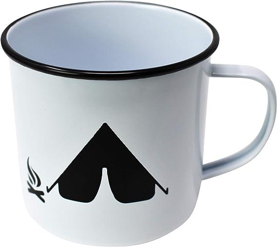 I/'m A Manatee Retro Enamel Mug Cup