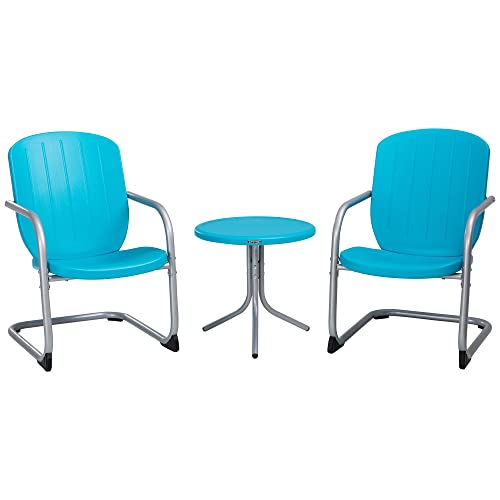 Lifetime Plastic Retro Outdoor Patio Furniture Set