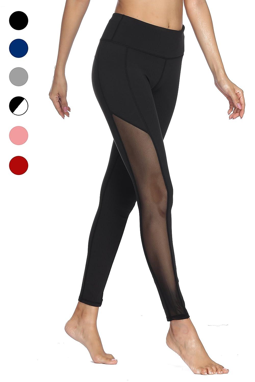 dh Garment Leggins Sportivi Donna Vita Alta Pantaloni Palestra Yoga Leggings Fitness W01-UK-S