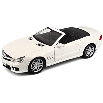 Maisto 1:18 Scale Mercedes-Benz SL63 AMG Diecast Vehicle (Colors May Vary): Toys & Games