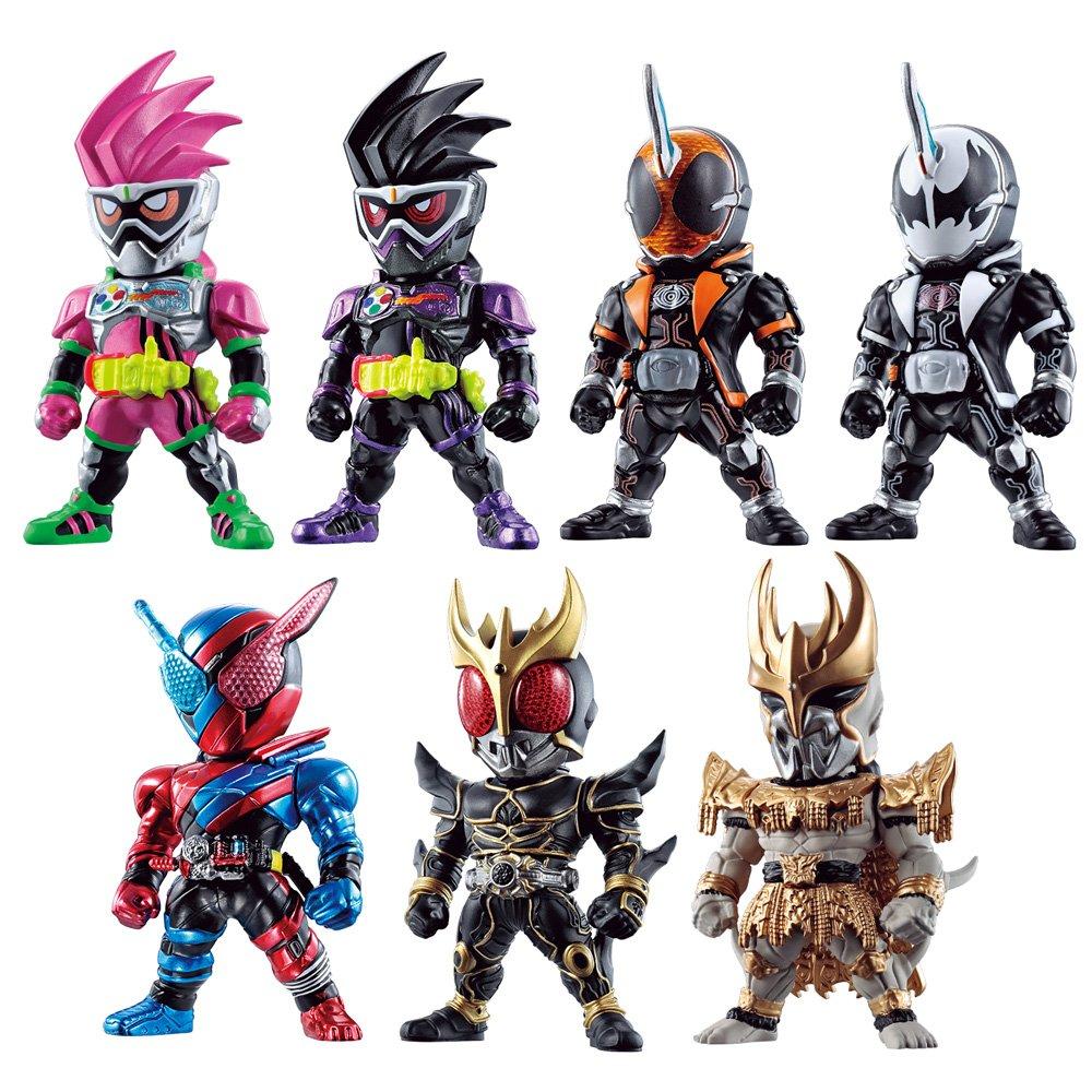 97abdb585 Amazon.com: Bandai Shokugan Converge Kamen Rider 7 (Pack of 10): Toys &  Games