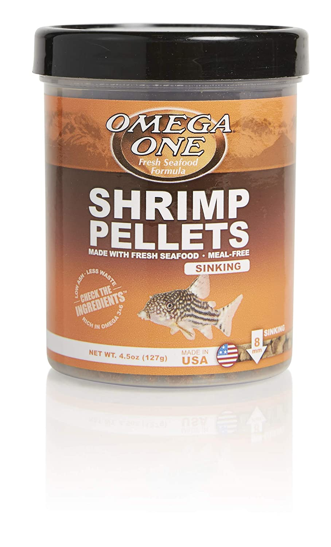 Omega One Sinking Shrimp Pellets, 8mm Pellets
