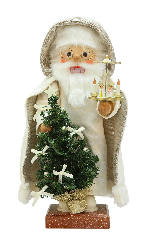 Alexander Taron Christian Ulbricht Decorative Santa with Pyramid Nutcracker by Alexander Taron
