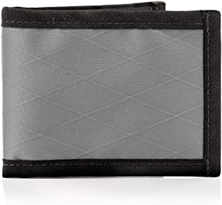 product image for Flowfold Vanguard Bifold Wallet Durable Slim Wallet Front Pocket Wallet Made in USA, Bifold (Grey)