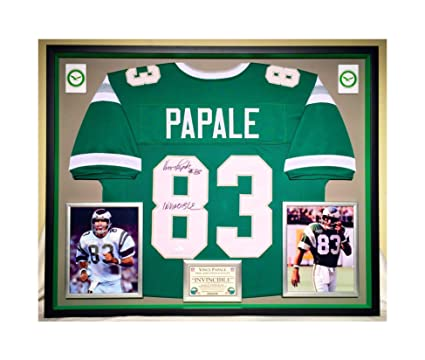 classic fit b6325 6af22 Premium Framed Vince Papale Autographed/Signed Philadelphia ...