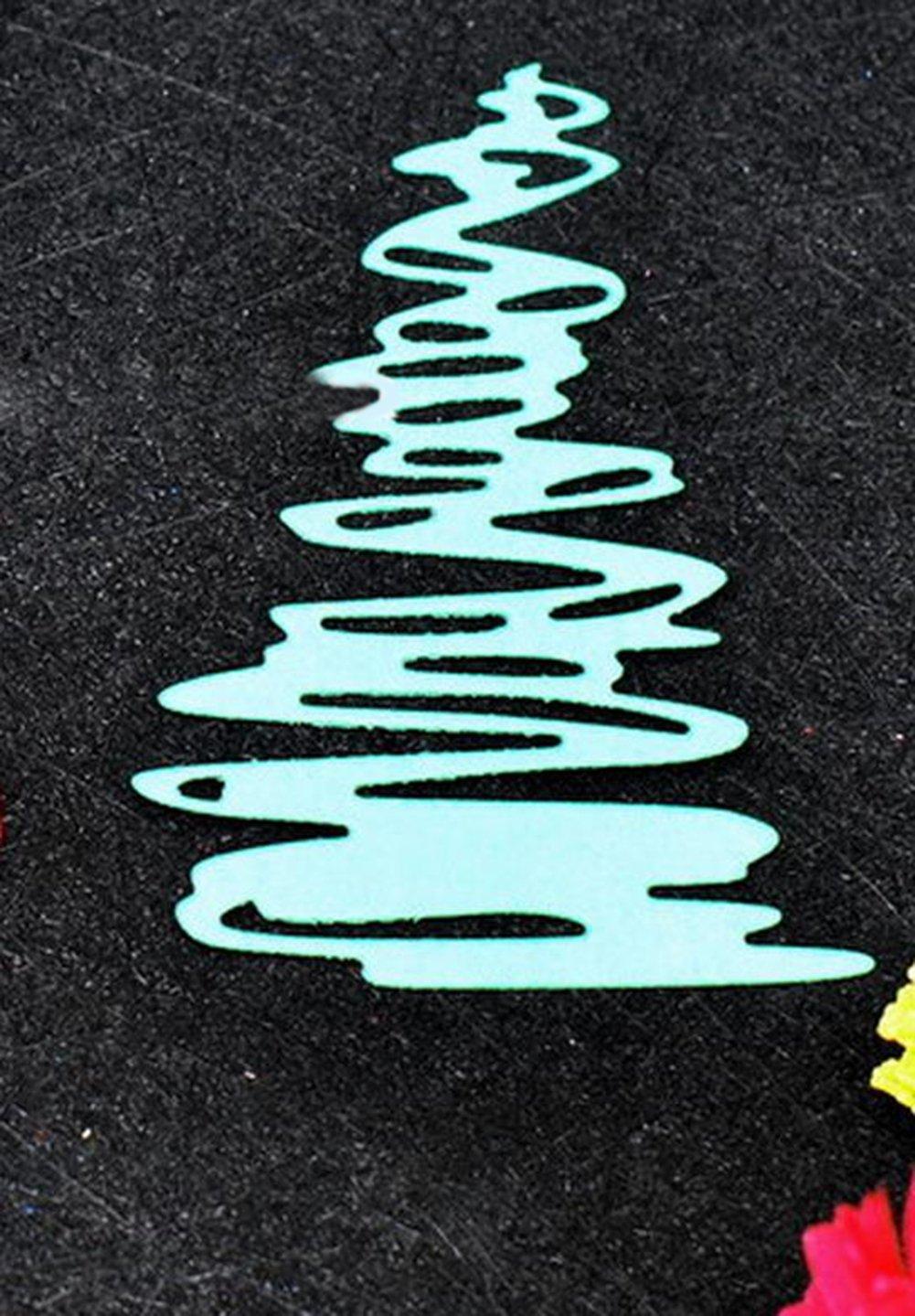 outflower 5/pcs//Pack Fashion pintura plantilla stencil /álbum de Scrapbooking Pastel caf/é DIY Art Decor