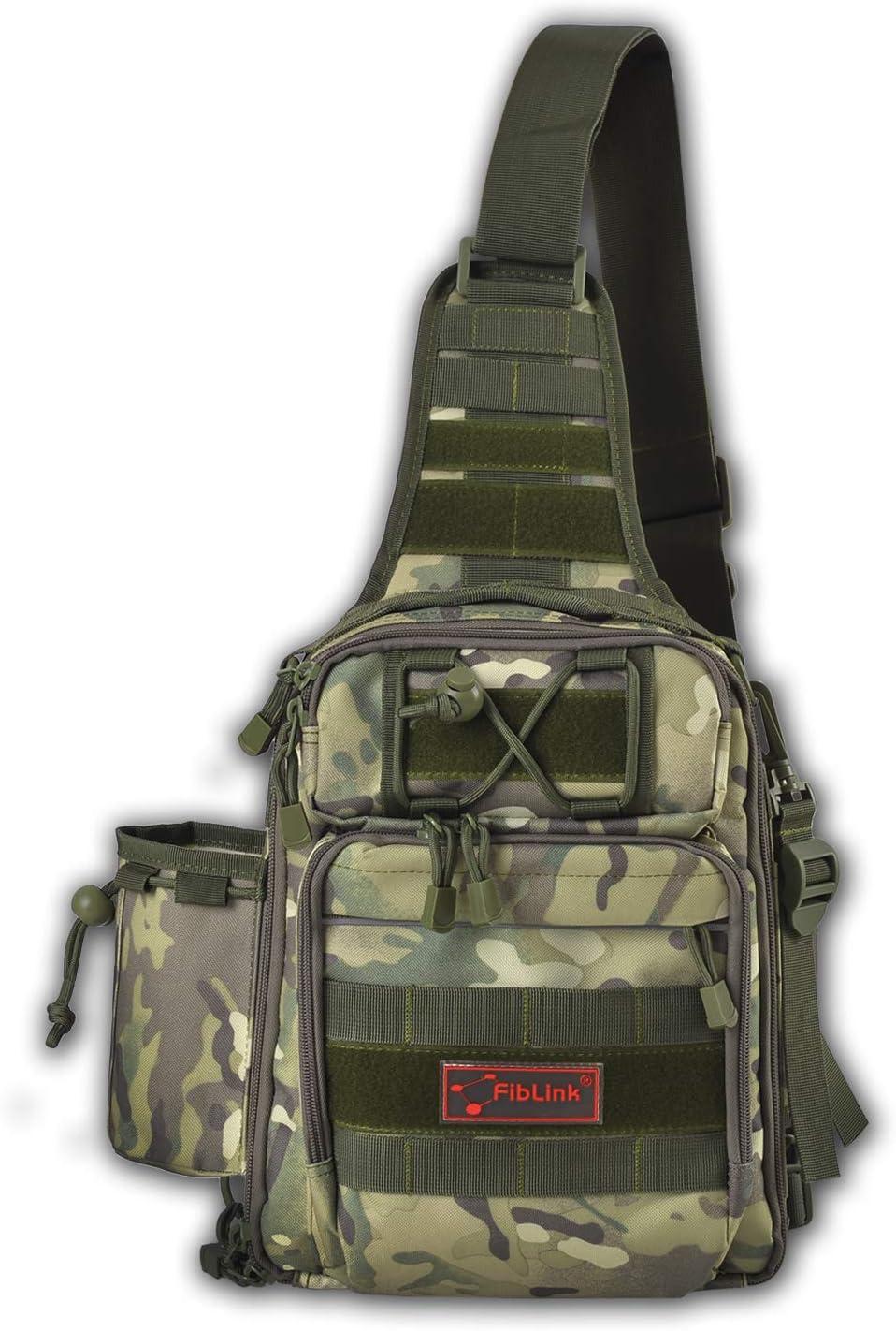 Waterproof Sports Single Shoulder Tackle Backpack
