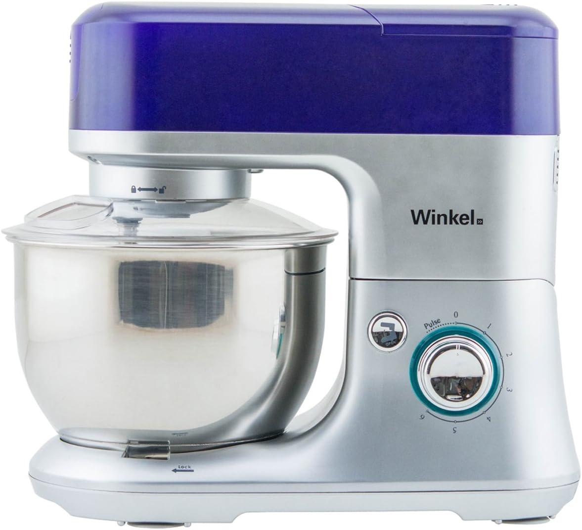 Winkel RX 80 RX80-Robot de Cocina multifunción, batidora amasadora, Color Morado, 650 W: Amazon.es: Hogar