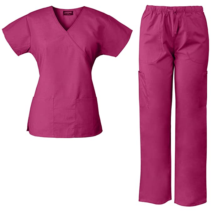 2fb30ef44d3 Image Unavailable. Image not available for. Color  Absolute Medical Scrubs  ...