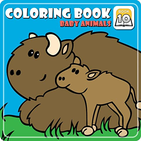 Coloring Book 10 Baby Animals Download