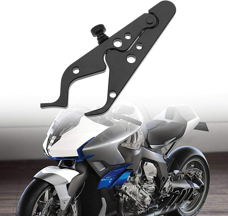 YINETTECH Motorrad Cruise Drossel Control Lock Motorrad mit Gummiring Kit Aluminum Drottle Assist Handgriff Universal