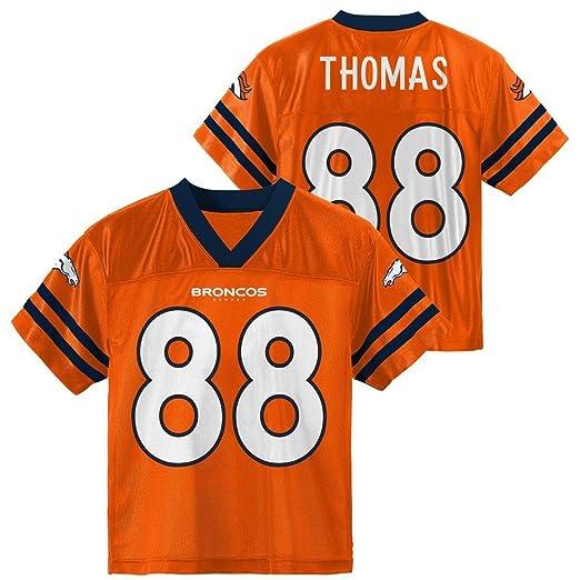 Demaryius Thomas Denver Broncos Orange Youth Player Home Jersey (Large 14 16 ) 908bd994b