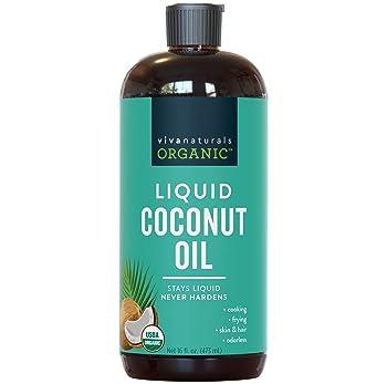 Organic Liquid Coconut Oil for Culinary