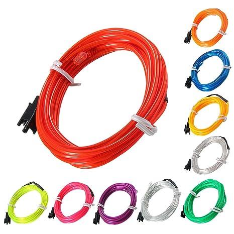 Amazon.com: Lights & Lighting - 2m El Led ble Soft Tube Wire Neon ...