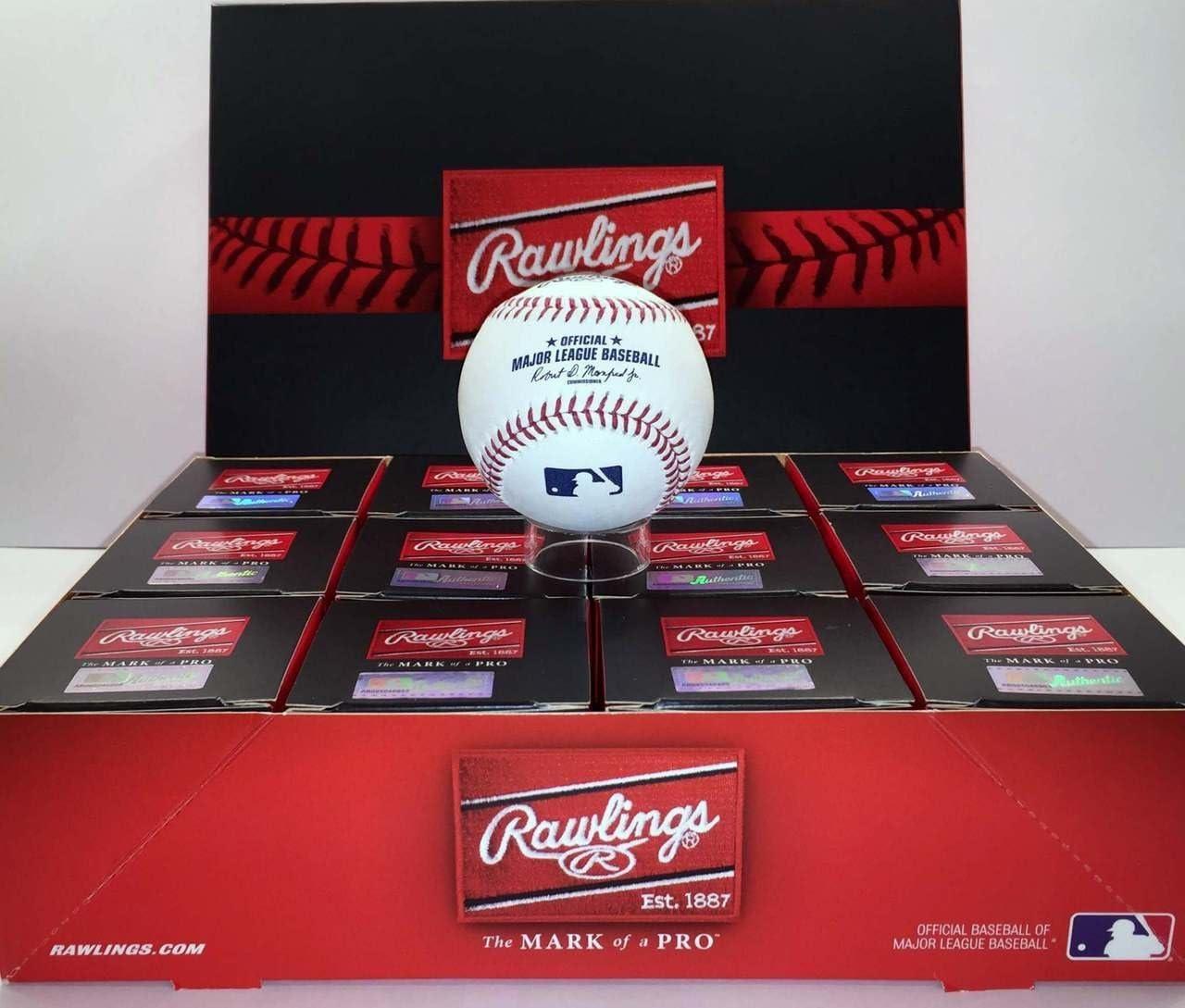 Rawlings公式メジャーリーグBaseballs (Dozens) 1ダース