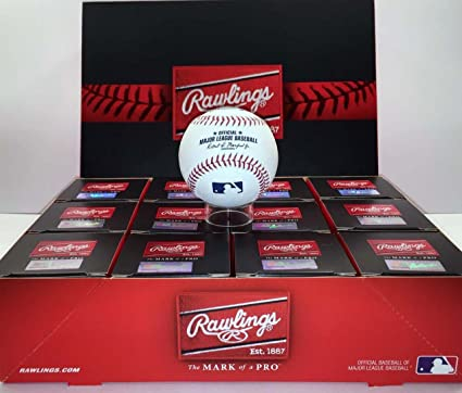 e6844a3f662 Amazon.com   Rawlings Official Major League Leather Game Baseballs from (One  Dozen)   Sports   Outdoors