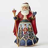 Jim Shore Heartwood Creek JS Hwc Fig Spanish Santa Figurine