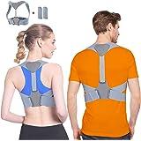 Corrector de Postura Corrector Postura Para Hombre y Mujer Espalda Férulas para espalda, Ideal para Aliviar el Dolor…