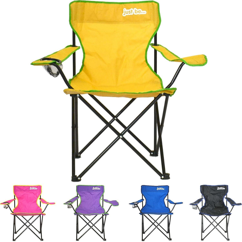 just be...® Silla de acampada plegable