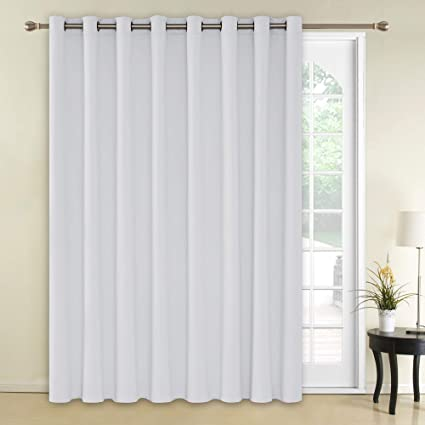 Deconovo Blackout Curtains Wide Window Curtains Room Darkening