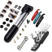 NIERBO Bike Tool Kit Tas, 28 in 1 Multifunctionele Fiets Reparatie Tool Kit Mountainbike Accessoires Bike Multi Tool Kit…