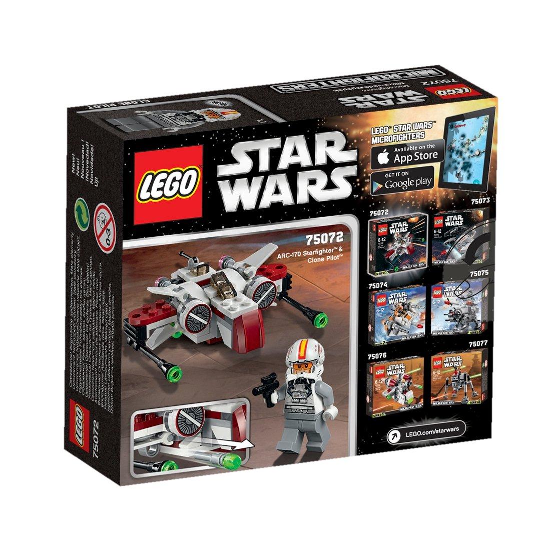 683d350dd537d Amazon.com  LEGO Star Wars 75072 ARC-170 Starfighter  Toys   Games