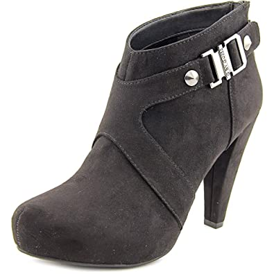 Womens TALKA Suede Round Toe Ankle Fashion Boots