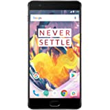 OnePlus 3T Smartphone 64GB Gunmetal A3003 [versione UE] con Dash Charger (6GB RAM, Snapdragon 821, USB Type-C, LTE) 5,5 pollici
