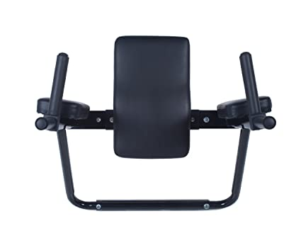 Ultimate Body Press Wall Mount Dip Station With Vertical Knee Raise