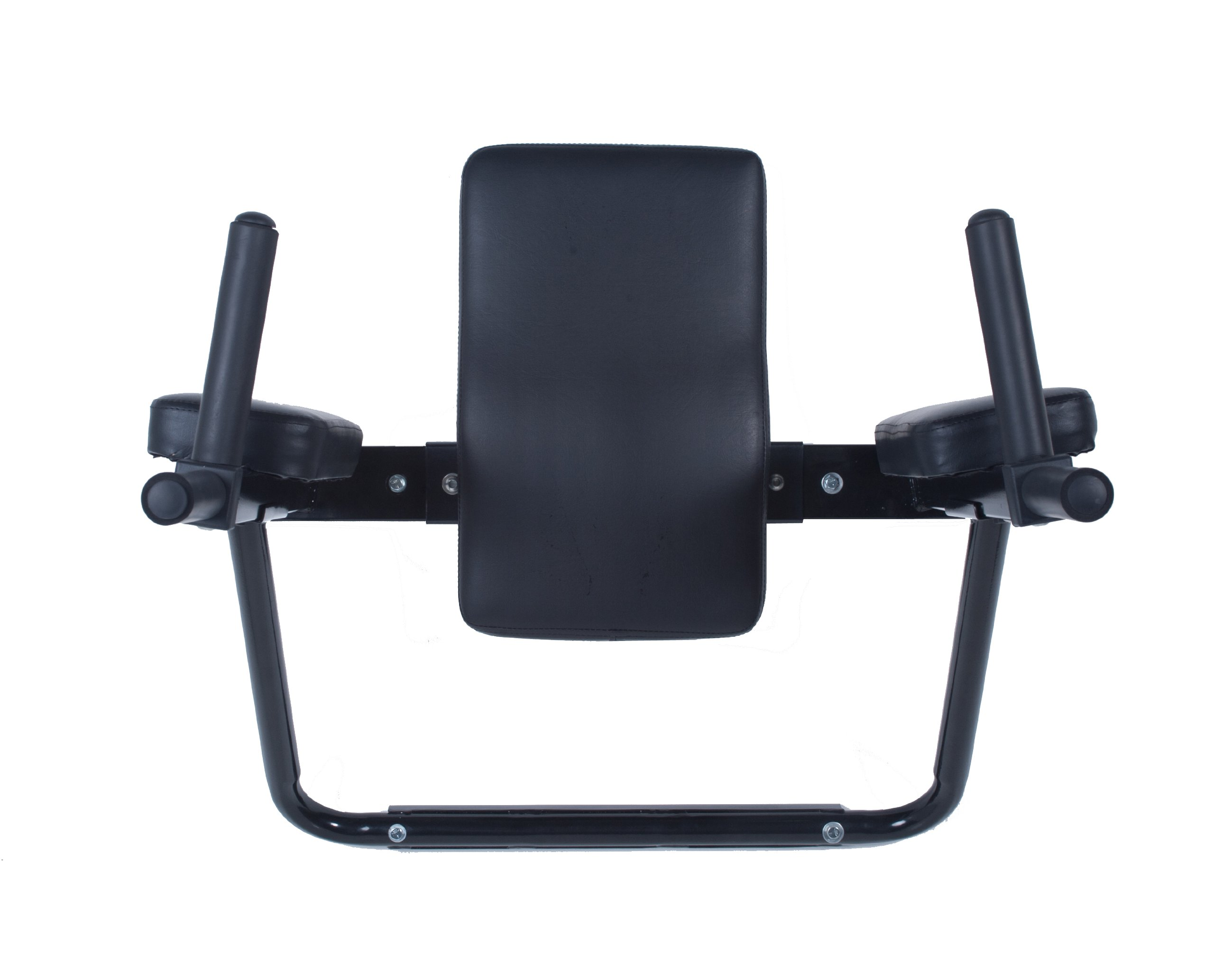 Ultimate Body Press Wall Mounted Dip Station with Vertical Knee Raise by Ultimate Body Press