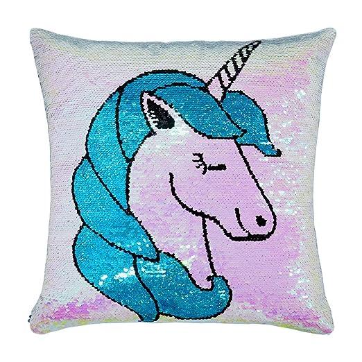United Unicorns - Funda de Almohada de Unicornio con ...