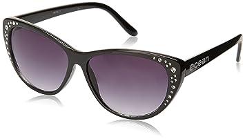 Ocean Sunglasses Miami - Gafas de Sol polarizadas - Montura : Marrón - Lentes : Ahumadas