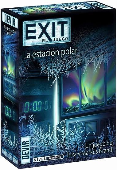Devir - Exit: La estación polar, Ed. Español (BGEXIT6): Amazon.es ...