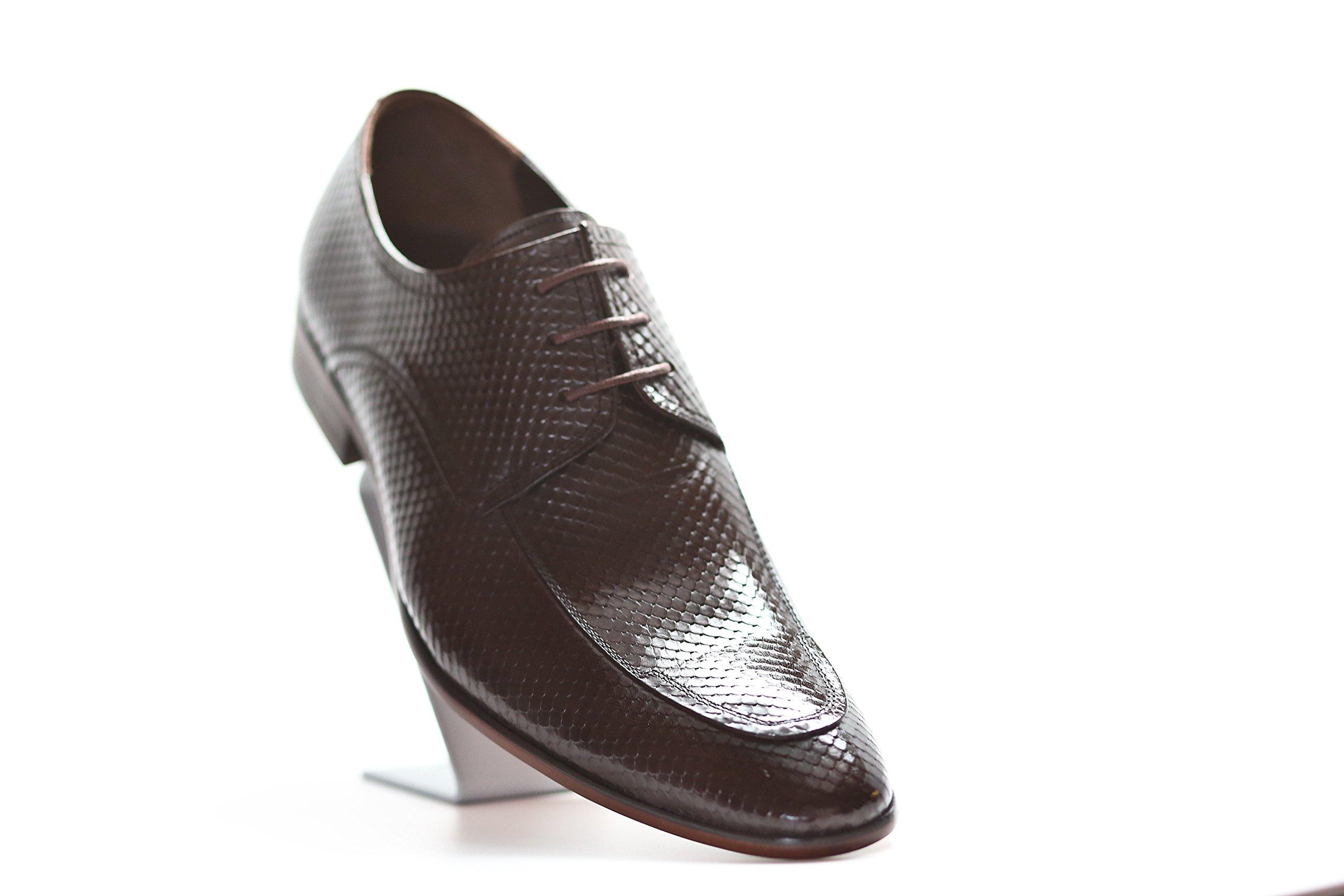 Liam Michael Men's Leather Delta Shoe (13, Coffee) by Liam Michael Shoes