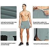 BALEAF Men's 3 Inches Running Shorts Reflective Gym