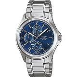 Casio Enticer Chronograph Blue Dial Men's Watch - MTP-1246D-2AVDF (A387)