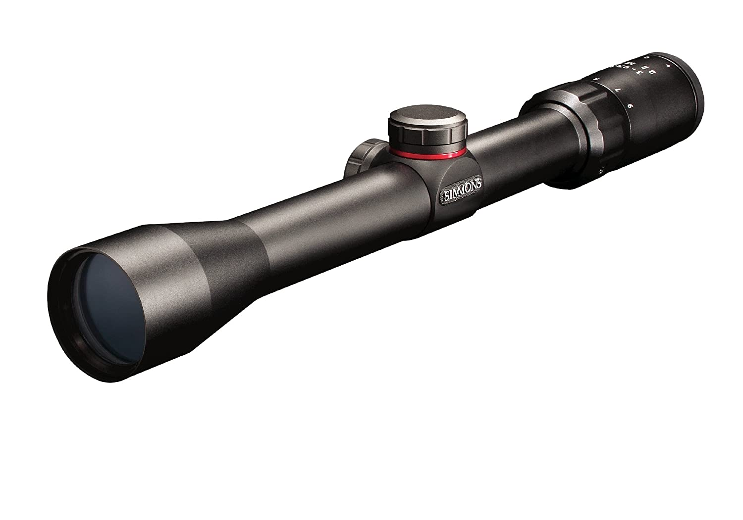 Simmons .22 Mag TruPlex Reticle Rimfire Riflescope with Rings, 4x32mm (Matte) 511022