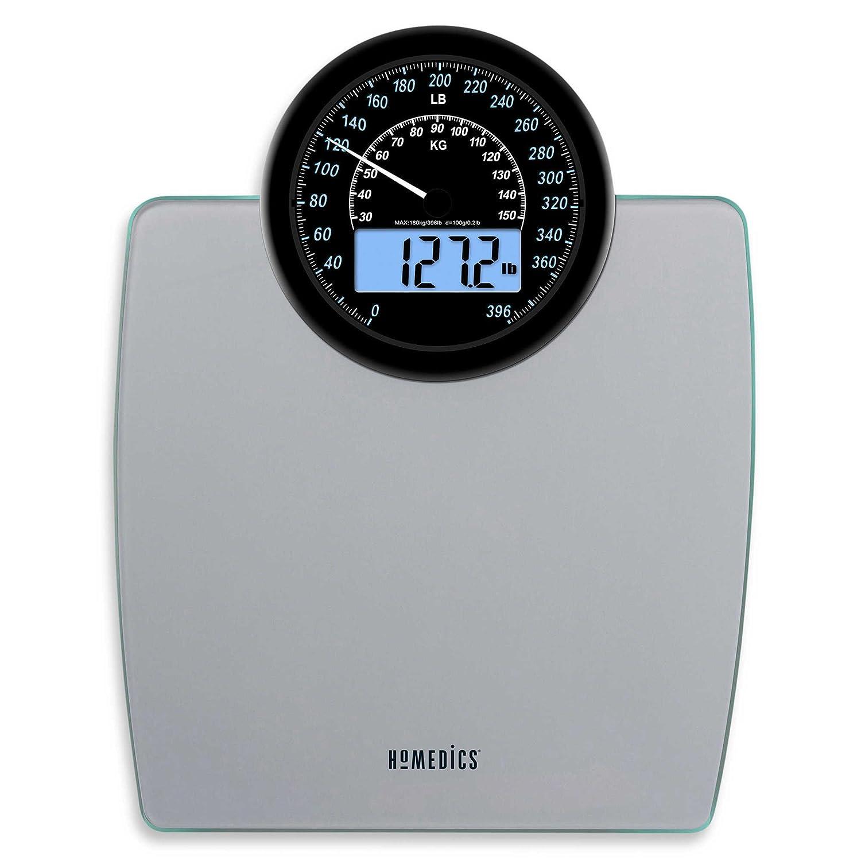 Home 187 homedics lcd digital bath scale - Amazon Com 900 Dual Display Digital Bathroom Scale Homedics Home Kitchen