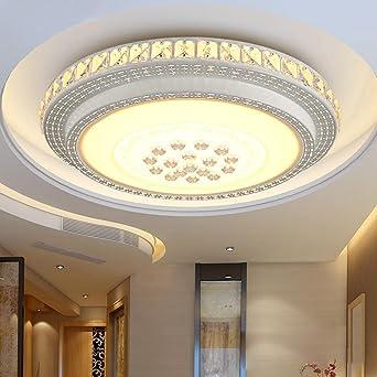 50W LED Deckenleuchte Deckenlampe Beleuchtung Wohnzimmerlampe Badlampe Warmweiß