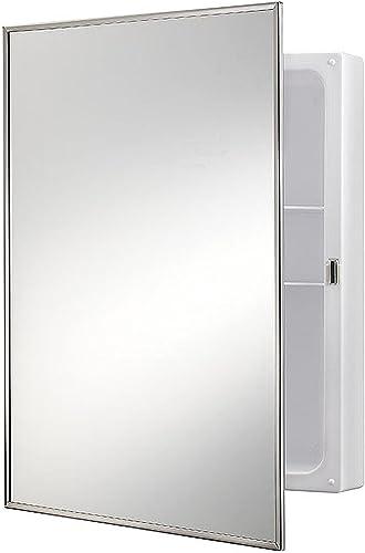 Jensen 614X Stainless Frame Medicine Cabinet