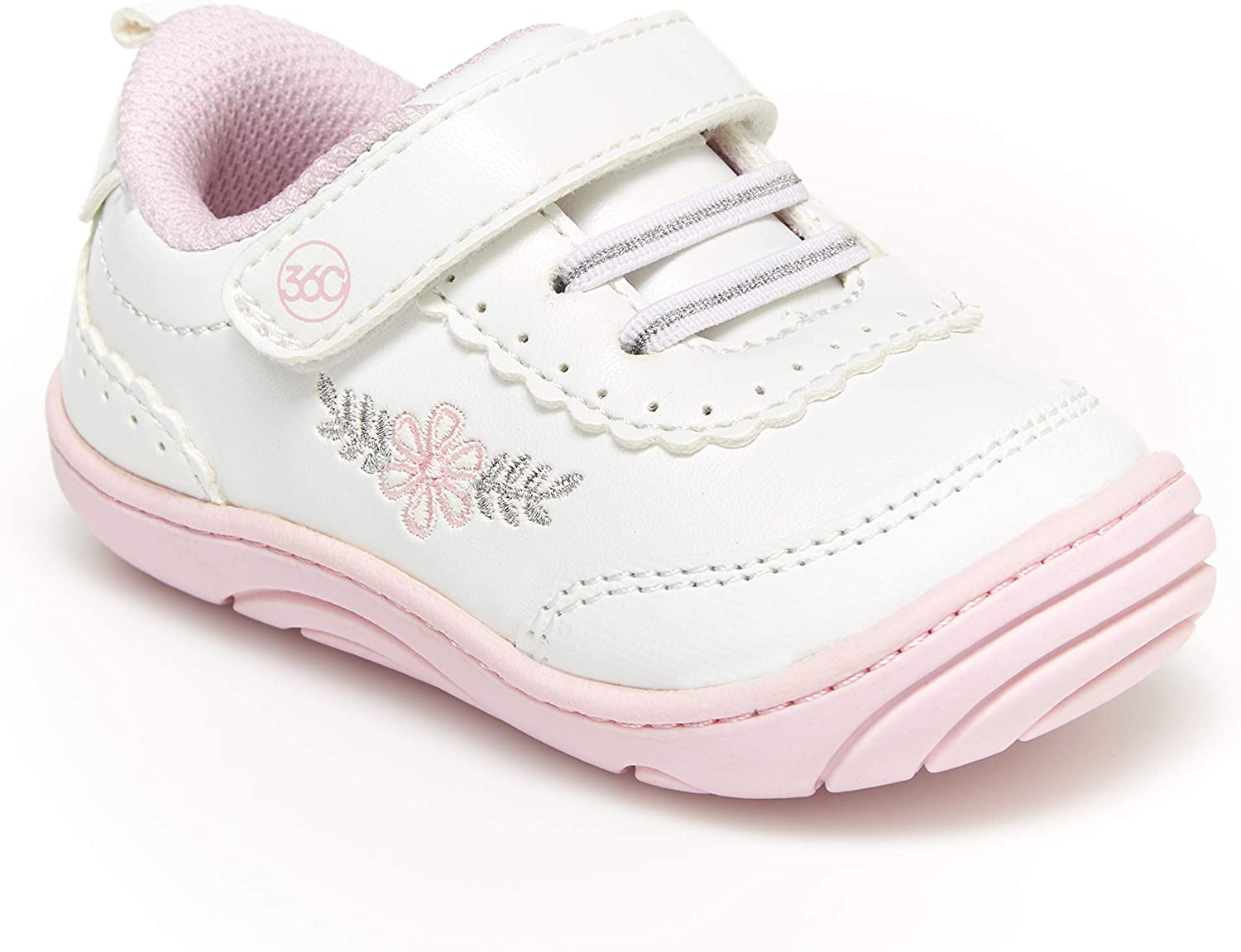 Stride Rite 360 Unisex-Child Dash Anti-Microbial Dual Width Insole Athletic Sneaker